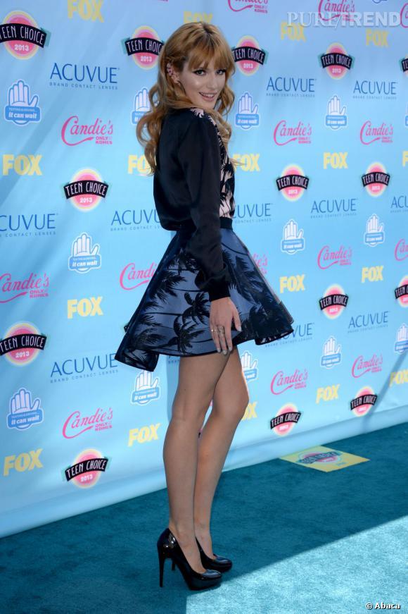 Bella Thorne aux Teen Choice Awards 2013.