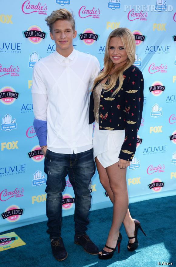 Cody et Alli Simpson aux Teen Choice Awards 2013.