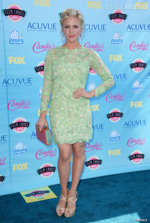 Brittany Snow aux Teen Choice Awards 2013.