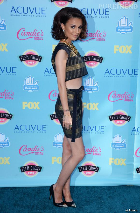 Cher Lloyd aux aux Teen Choice Awards 2013.
