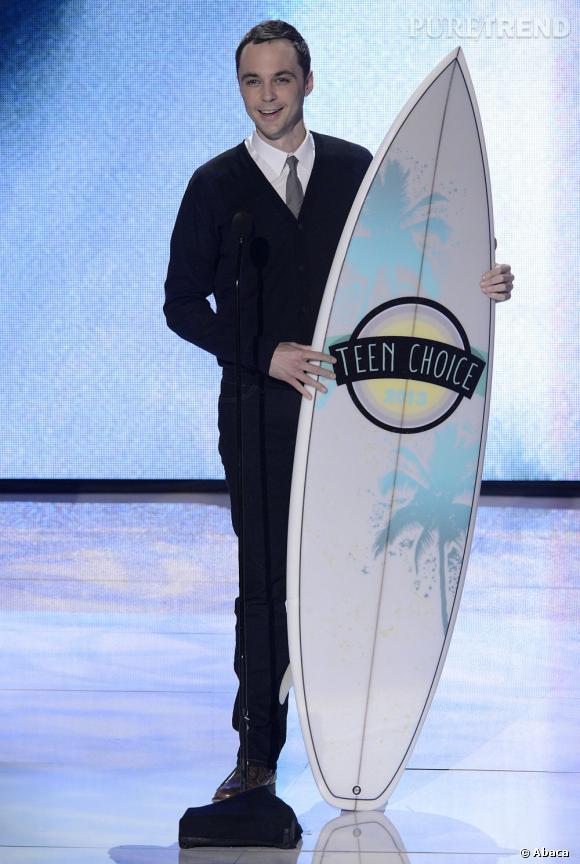 """Jim Parsons, meilleur acteur de comédie pour """"The Big Bang Theory""""."""