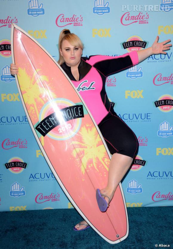 Rebel Wilson meilleure actrice de comédie aux Teen Choice Awards 2013.
