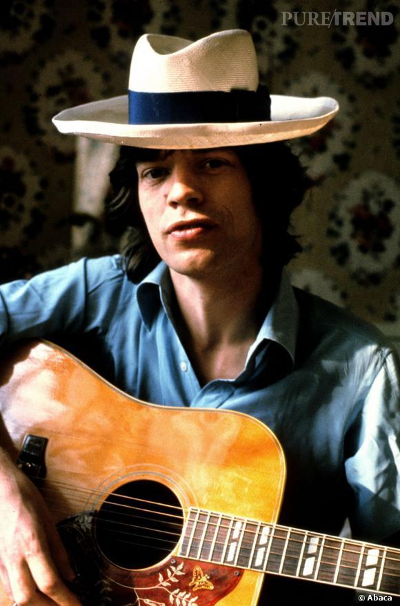 Mick Jagger, ce séducteur en 1973.