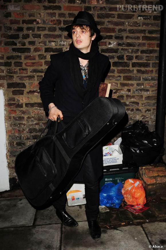 Pete Doherty, l'artiste des rues qui a réussi à charmer Kate Moss.