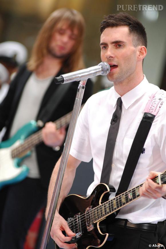 Adam Levine, l'un des chanteurs lovers les plus en vogue de 2013.