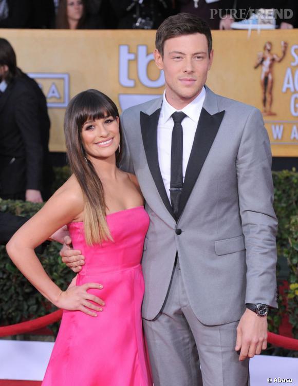 """Cory Monteith et Lea Michele étaient deux personnages importants de la série """"Glee"""" mais aussi en couple dans la vraie vie..."""