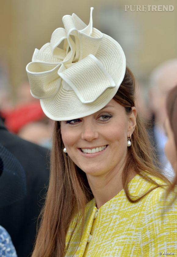 Quelques semaines seulement avant son accouchement, Kate Middleton se mettait encore un point d'honneur à ne pas négliger ses beauty looks.