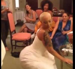 Amber Rose twerke la veille de son mariage !