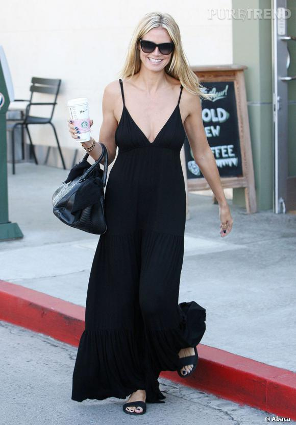 Heidi Klum à Santa Monica.