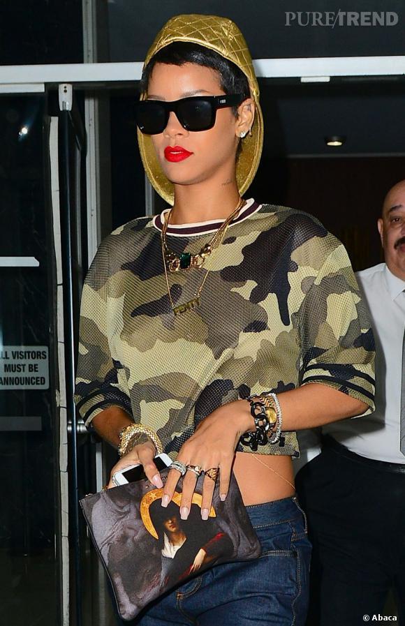 150 coupes de cheveux différentes en une vie ? Pour Rihanna, le compte est bon au bout d'une année seulement...