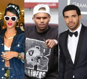 Rihanna, Chris Brown et Drake ont toujours eu une relation compliquée...