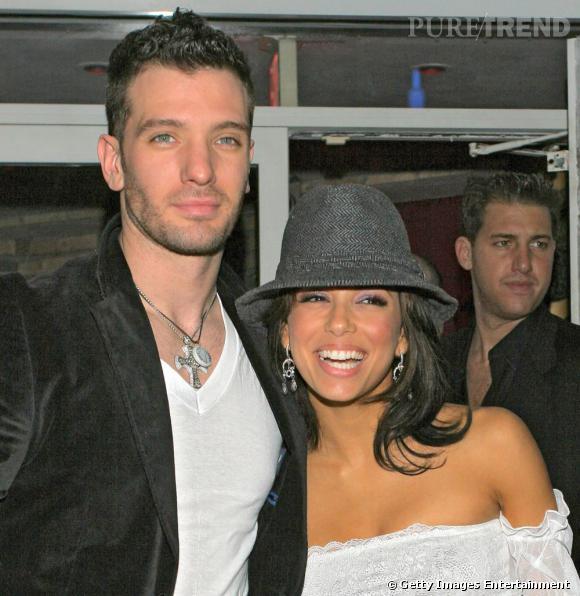 JC Chasez et Eva Longoria :  ensemble en 2004.