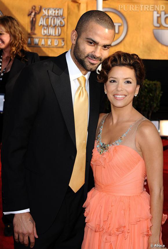 Tony Parker et Eva Longoria :  mariés de 2007 à 2011.