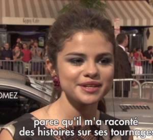 """Selena Gomez l'avoue : sur le tournage de """"Getaway"""", Ethan Hawke a été un vrai mentor."""