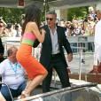 Sandra Bullock et George Clooney s'offrent une entrée remarquée à Venise.