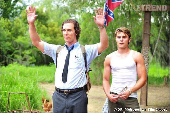 "Matthew McConaughey et Zac Efron dans le film ""Paperboy""."