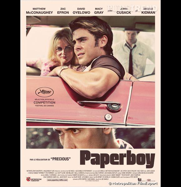 """L'affiche de """"Paperboy""""."""