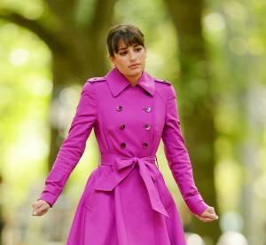 Lea Michele : lumineuse pour son retour sur le tournage de Glee... A shopper !