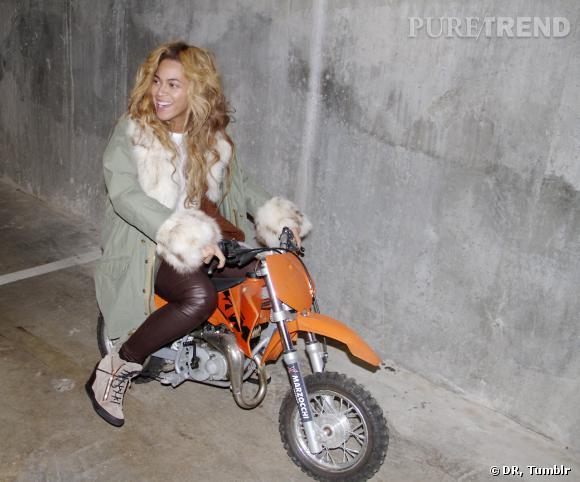 Beyoncé, sexy même sans maquillage.