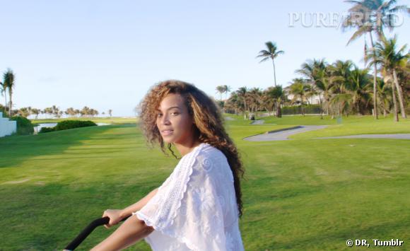 Beyoncé, superbe au naturel.