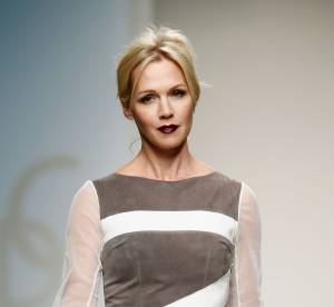 Jennie Garth : a 41 ans, la star de Beverly Hills defile a la Fashion Week de New York
