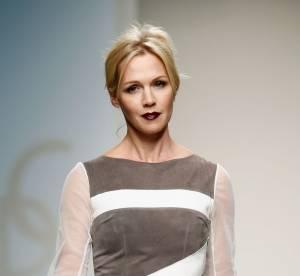 Jennie Garth : a 41 ans, la star de Beverly Hills defile a la Fashion Week de New York
