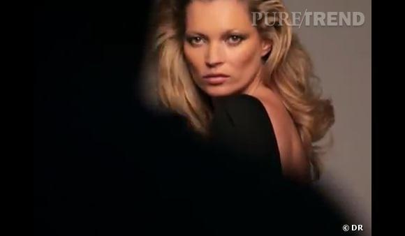 On s'offre un volume comme Kate Moss pour Kérastase grâce aux bons soins des coiffeurs de la marque.