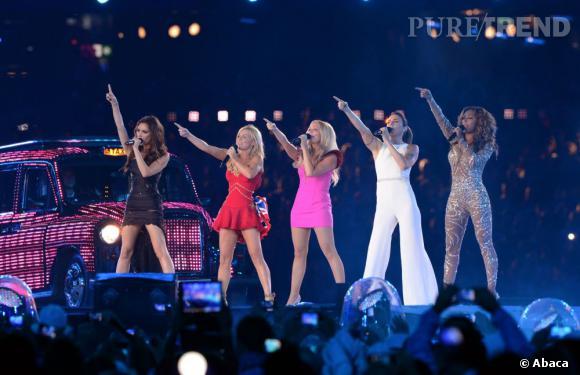 Les Spice Girls aux JO de Londres en 2012.