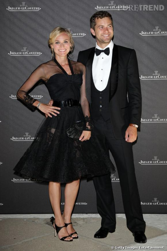 Diane Kruger et Joshua Jackson, un couple exemplaire.