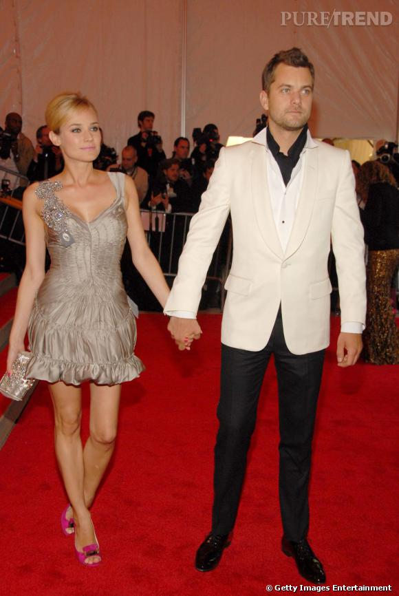 Diane Kruger et Joshua Jackson, joli couple des tapis rouge.