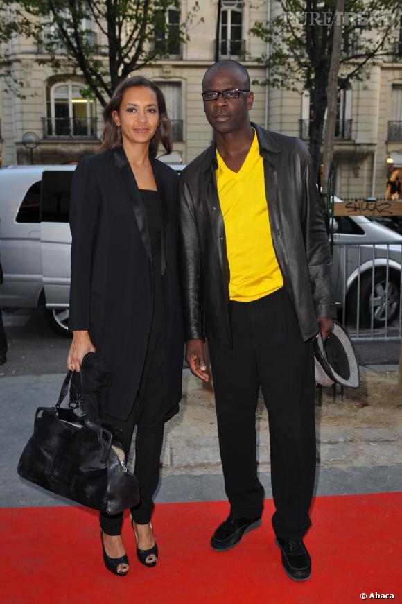 Karine Le Marchand était en couple avec Lilian Thuram depuis 2007.