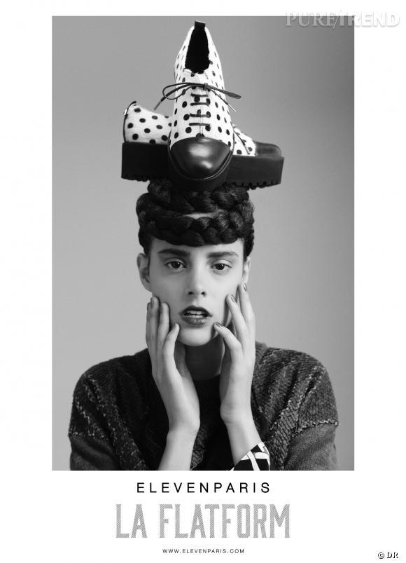 Le must have de Marie Les chaussures Eleven Paris collection Automne-Hiver 2013/2014
