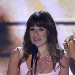 Lea Michele aux Teen Choice Awards avait elle aussi rendue un hommage à Cory Monteith.