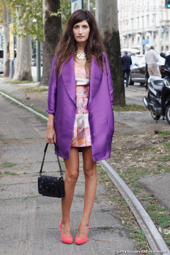 Street Style Fashion Week De Milan Le Boy De Chanel Un Fantasme Pour Bien Des Femmes Une