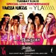 Vanessa Hudgens avait prévenu ses fans sur Instagram de son petit concert avec le groupe YLA.