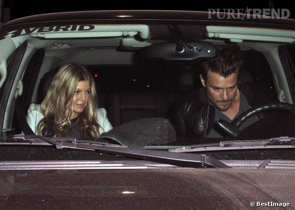 Fergie et Josh Duhamel, parents d'un petit Axl depuis le 29 août.