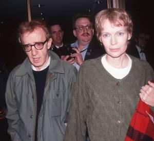 Mia Farrow et Woody Allen ont été en couple entre 1980 et 1992.