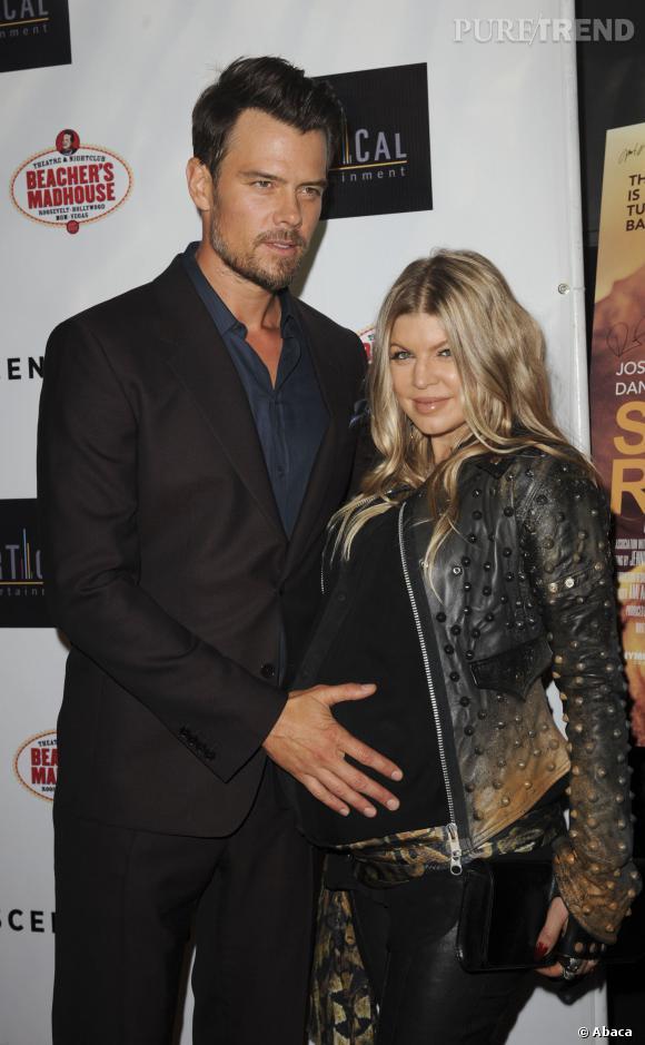 Fergie et Josh Duhamel, heureux jeunes parents.