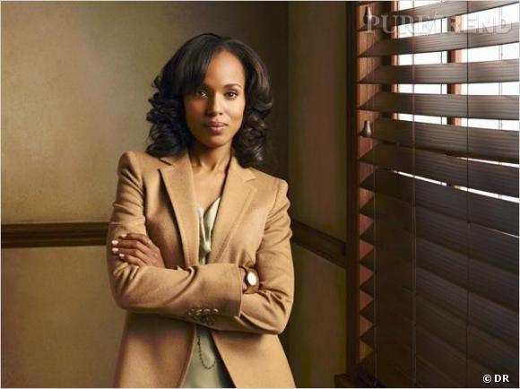 """Kerry Washington voit sa carrière décoller grâce à la série """"Scandal"""" de Shonda Rhimes."""