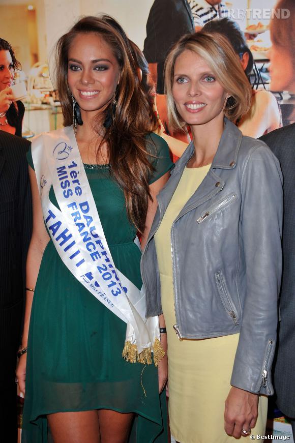Sylvie Tellier accompagnera Hinarani de Longeaux au concours Miss Univers le 9 novembre prochain.