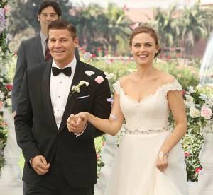 Bones saison 9 : enfin le mariage de Booth et Brennan
