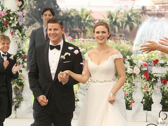 Dans l'épisode 6 de la saison 9, Booth et Brennan se disent enfin oui !