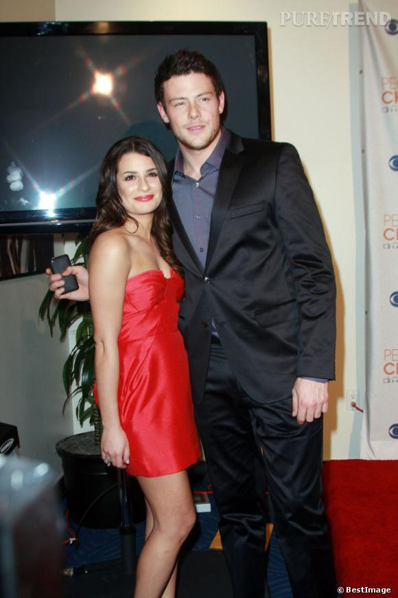 Lea Michele parlerait tout le temps de Cory Monteith à ses amis.