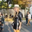 Anna Dello Russo au défilé Printemps-Été 2014 Max Mara.