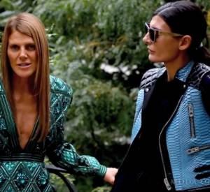 Anna Dello Russo et Giovanna Battaglia pour Moda Operandi.