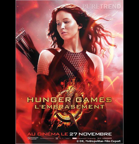 """""""Hunger Games - L'Embrasement"""" développe enfin la relation entre Katniss et Peeta, mais aussi Katniss et Gale."""