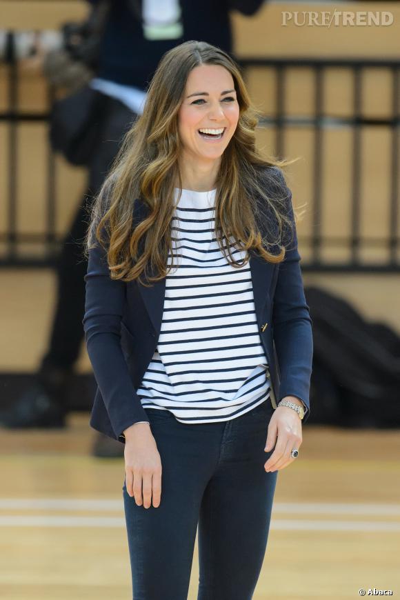 Kate Middleton, rayonnante à peine 3 mois après son accouchement.