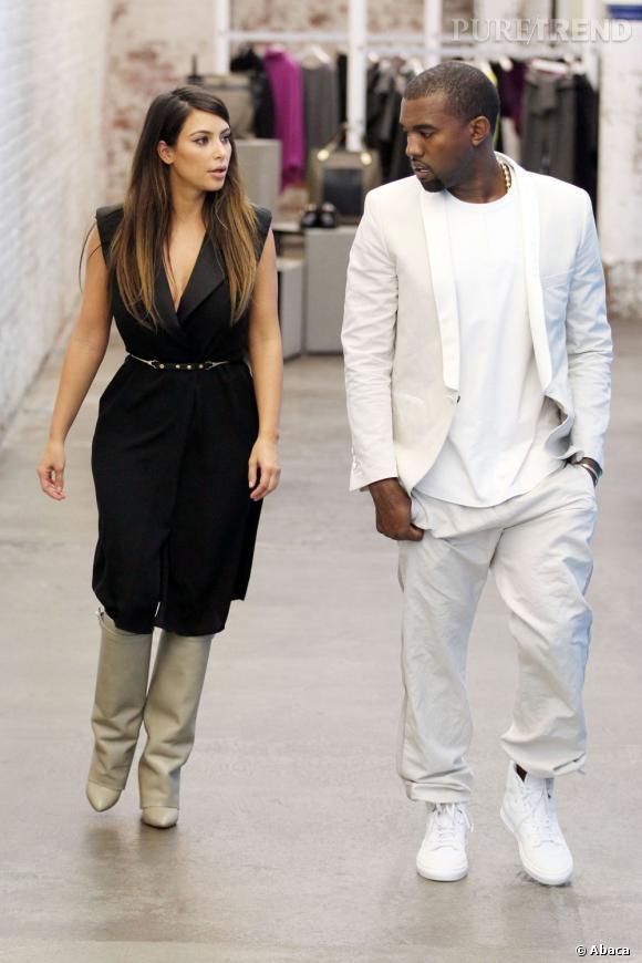 Kim Kardashian Et Ses Bottes Givenchy Kanye West En Total