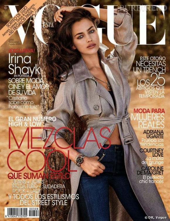 Irina Shayk : ses confidences pour le Vogue Espagnol.