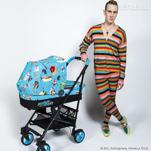 La collaboration inattendue entre Jeremy Scott et Cybex.